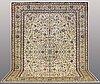A carpet, kashan, signed, ca 430 x 327 cm.