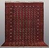 A carpet,, old afghan, ca 410 x 283 cm.