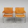 Tord bjÖrklund, a pair of 'klinte' easy chairs, ikea.