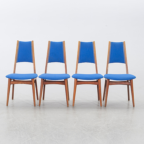 6 chairs, probably norway.