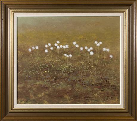 Veli koljonen, oil on canvas, signed and dated-85.