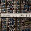 A carpet, keshan, ca 297 x 197 cm.
