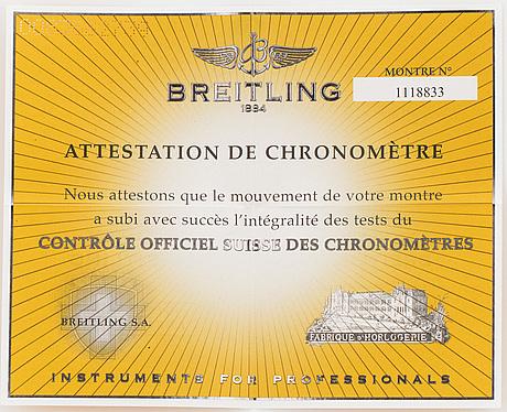 Breitling, cockpit lady, armbandsur, 31 mm.