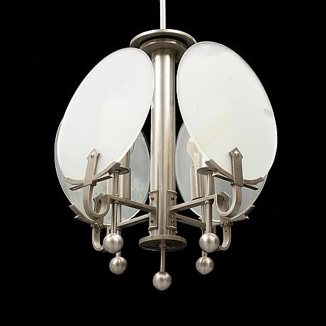 An art deco ceiling light, 1920's.