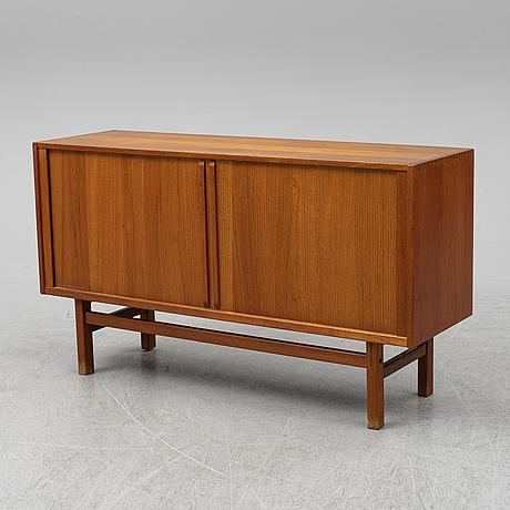 Nils jonsson, teak veenered sideboard, 1960's.
