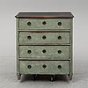 A chest of drawers, second half of the 19th century.