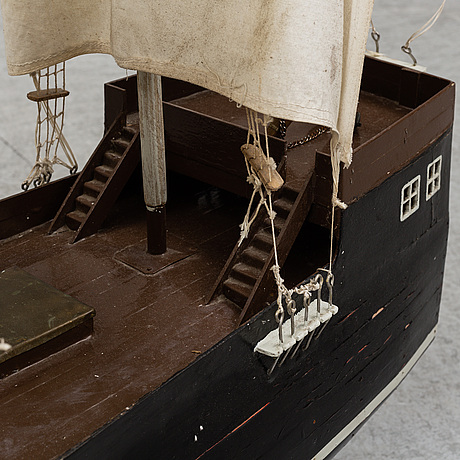 A ship model, first half of the 20th century.