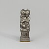 A firma svenskt tenn pewter and brass seal, probably second quarter of the 20th century.