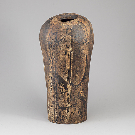 A late 20th century floor vase.