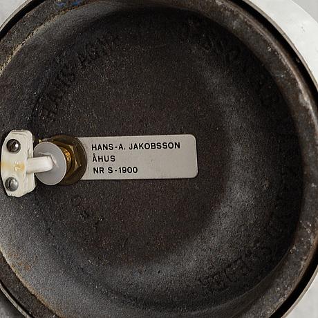 Hans-agne jakobsson, a late 20th century floor light for markaryd.