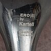 Philippe starck, a pair of eros chairs for kartell. signed.