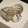 Alexander calder, a 1930's brass bracelet.