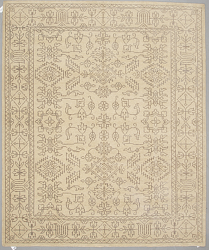 An oriental carpet, ca 296 x 248 cm.