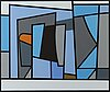 GÖran augustson,  a serigraph, signed and dated -89, numbered 9/100.