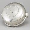 Johan petter fagerstrÖm, a pewter porrige bowl, jalmar, 1821.