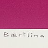 Olle baertling,litograph in colours, 1977-81, signed and numbered 1/100.