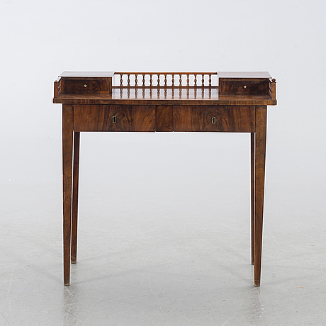 A mid 19th century writing desk.