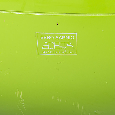 Eero aarnio, a 'pastil chair' for adelta.
