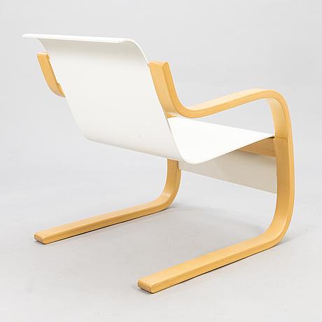 Alvar aalto, a late 20th century '31' armchair for artek.