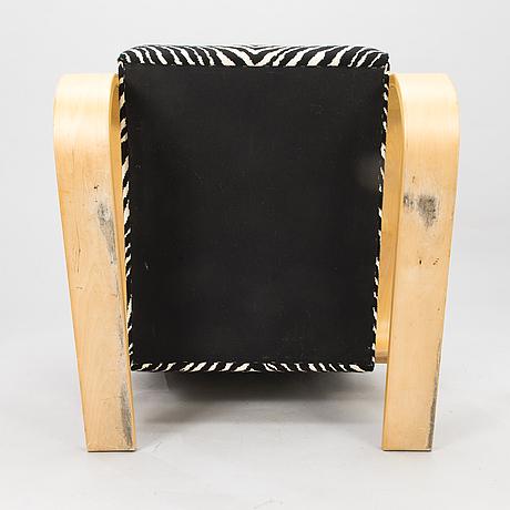 Alvar aalto, an early 1990's '400' armchair for artek.