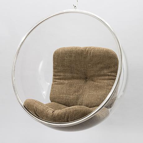 Eero aarnio, a 1970's 'bing bong' chair for asko.