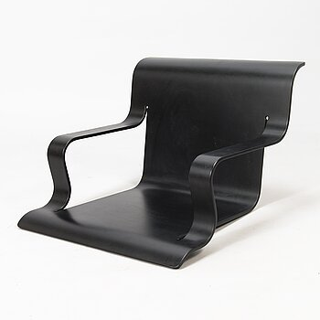 ALVAR AALTO, a late 20th-century seat for armchair no. 40 for Artek.