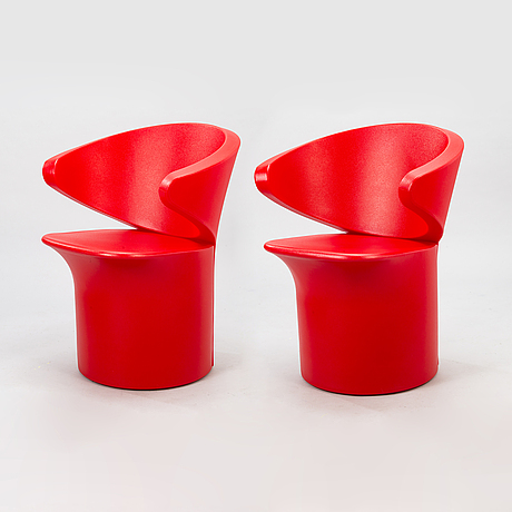 Eero aarnio, a pair of 'focus 2' chairs for adelta.
