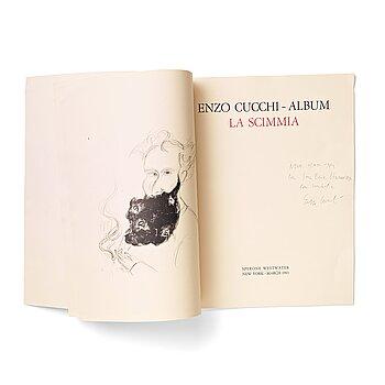 """104. Enzo Cucchi, """"Album La Scimmia""""."""