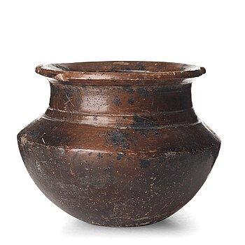115. A pottery jar, presumably Greek, circa 3rd Century B.C.
