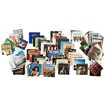 102. Record collection of Jan-Eric Löwenadler, 120 vinyl records.