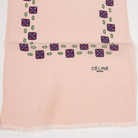 CÉline, scarf and twilly.