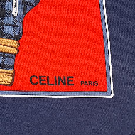CÉline, scarf.