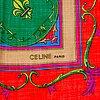 CÉline, a wool and silk shawl.