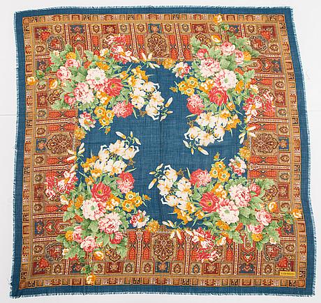 Valentino, wool and silk shawl.