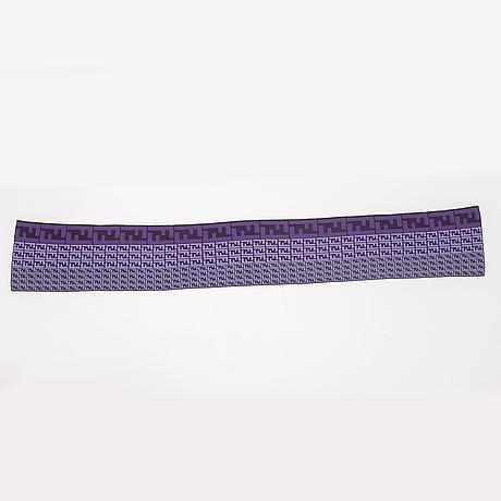Fendi, a wool shawl.