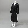Christian dior, a cashmere coat, size 10.