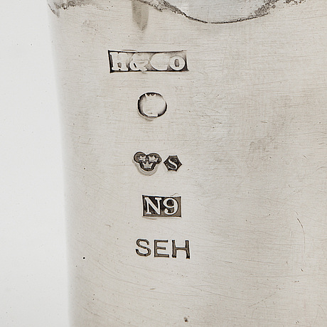 Sven-erik hÖgberg, silver signet. göteborg, 1963.