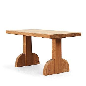 """245. Axel Einar Hjorth, a stained pine """"Sandhamn"""" table, Nordiska Kompaniet Sweden 1935."""
