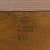Kai kristiansen, sivupÖytÄ malli 394, ja peili, aksel kjersgaard, odder, tanska 1960-luku.