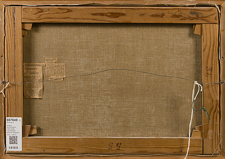Ruben heleander, oil on canvas, signed.