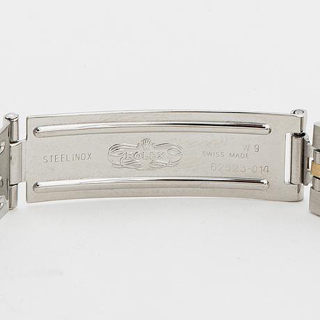 Rolex, oyster perpetual, date, armbandsur, 26 mm.