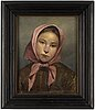Hugo salmson, oil on canvas, signed and indistingtly dated.