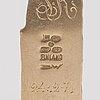 "BjÖrn weckstrÖm, a 14k gold necklace ""golden tree"", mossagate. lapponia 1971."