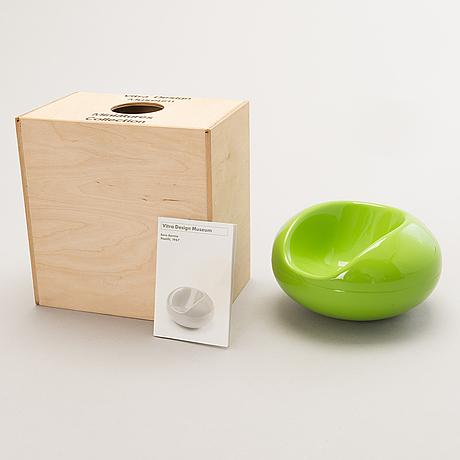 Eero aarnio, a miniature, 'pastil chair', vitra design museum.