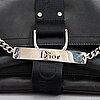 Christian dior, a nylon handbag.