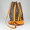 Louis vuitton, a 'randonne' monogram canvas handbag.
