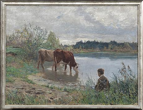 A painting by carl trÄgÅrdh,