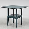 Eliel saarinen, after, 'blue table' (cranbrook 1929), numbered 159, for adelta, finland, late 20th century.