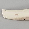 A sami knife by tommy marklund.
