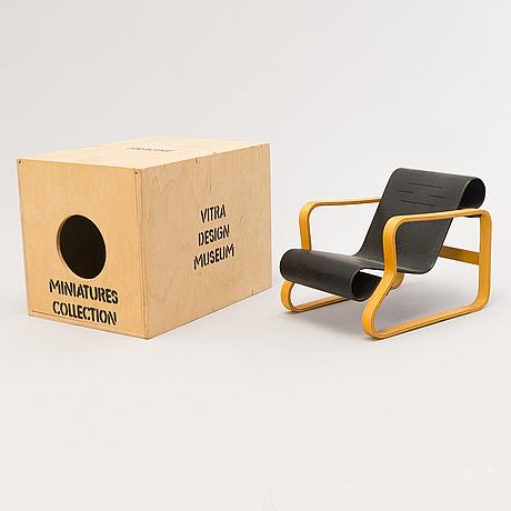 "Alvar aalto, miniatryr, ""paimio"", vitra design museum."